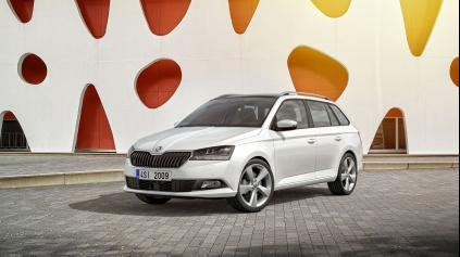 Za koľko ponúka modernizovaná Škoda Fabia LED svetlá?