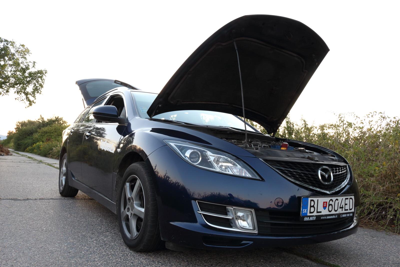 TopSpeed.sk test jazdenky Mazda 6 GH